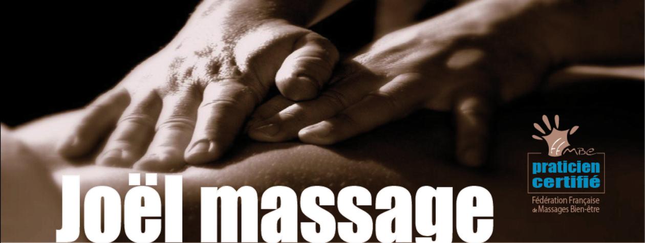 Joël massage